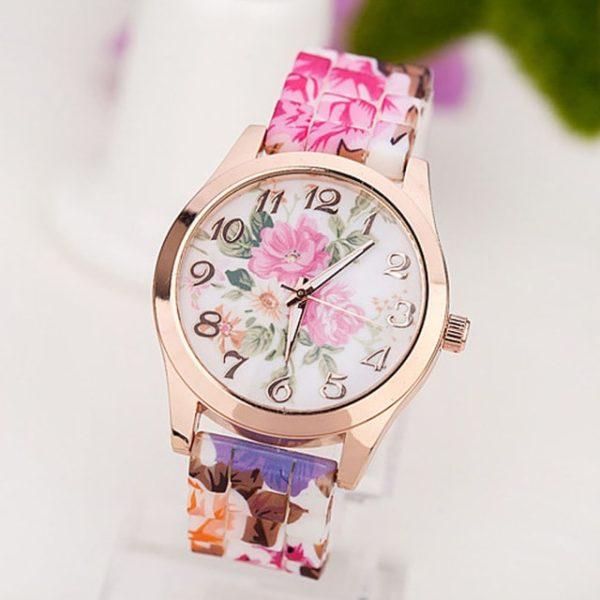 Часы Jelly Floral