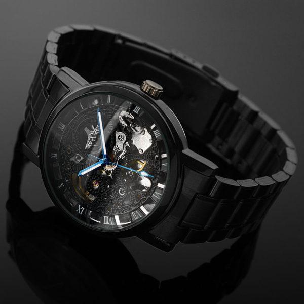 Часы Steampunk Skeleton