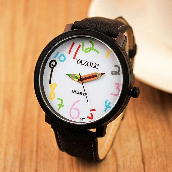 Часы Необычные Yazole