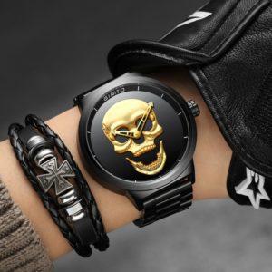 Часы Череп