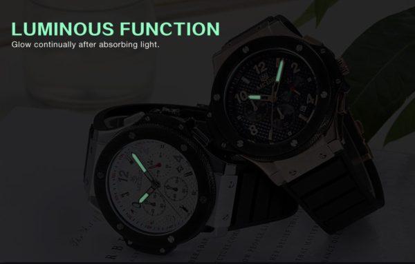 Часы Megir Hublot