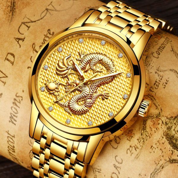 Часы Dragon Gold