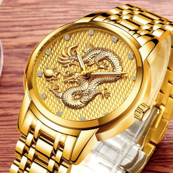 Часы Dragon Gold