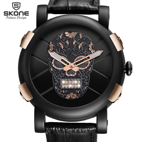 Часы Skull Ornament