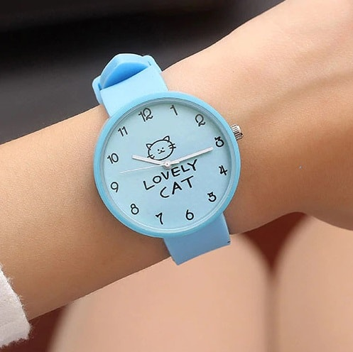 Часы Lovely Cat