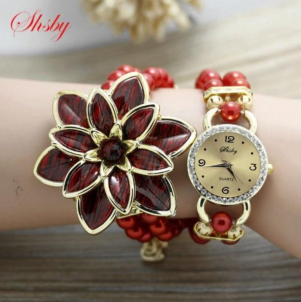Часы Lush Flower